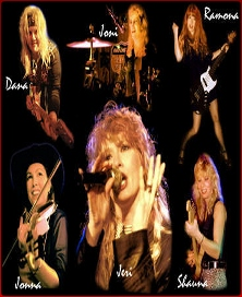 Cowboys Nightmare Full Band Photo Collage